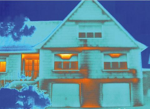 Thermographie infrarouge Maison